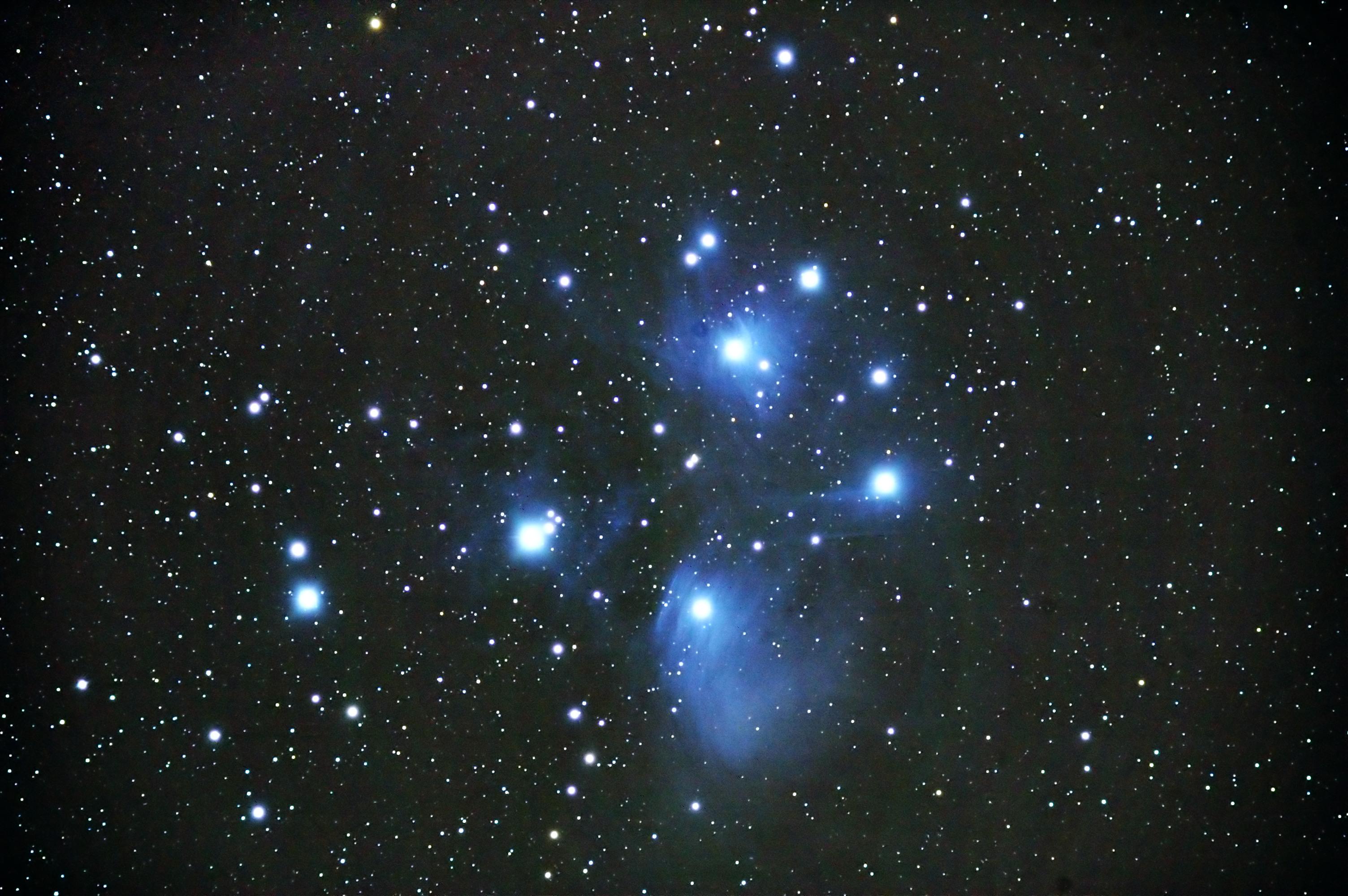 Wat zie je door een telescoop